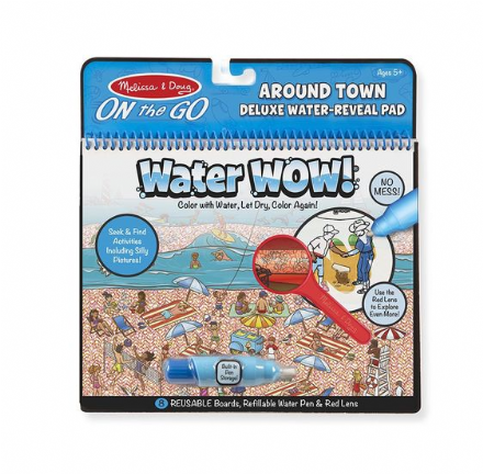Melissa & Doug On the Go - Around Town Water Wow!